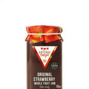 340g Original Strawberry Whole Fruit Jam