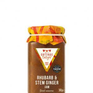 340g Rhubarb & Stem Ginger Jam
