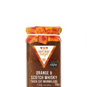 350g Orange & Scotch Whisky Thick Cut Marmalade 2021