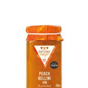 350g Peach Bellini Jam