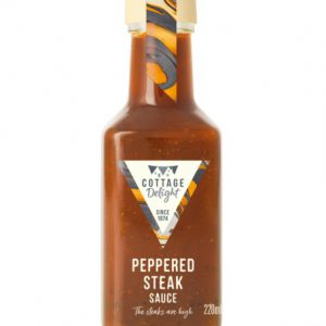 220ml Peppered Steak Sauce 2021