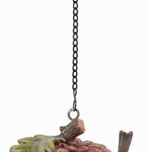 Hanging Robin Acorn Feeder 17cm