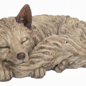 Wood Life Sleeping Fox A L44cm