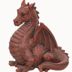 Winged Dragon Red   H51cm