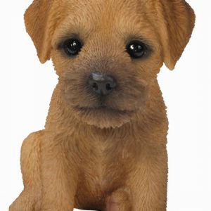 Border Terrier Puppy H17cm