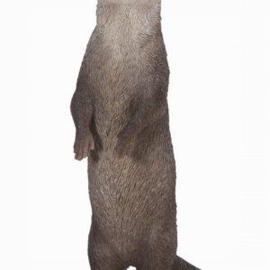 Standing Otter H34cm