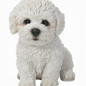 Bichon Frise Puppy H17cm