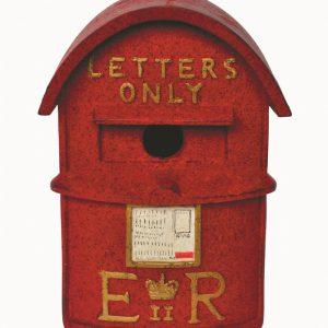 Letter Box Birdhouse H24cm
