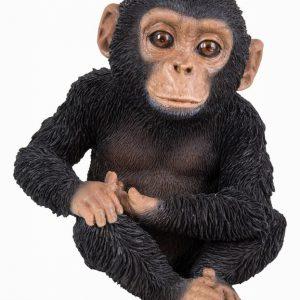 Sitting Baby Chimp H14cm