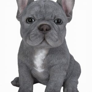Blue French Bulldog H16cm