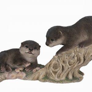 Climbing Baby Otters L35cm