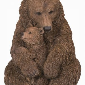 Real Life Mother/Baby Brown Bear