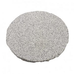 Granite Stepping Stone 300mm Light Grey