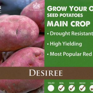 CARRIPACK SEED POTATOES 2KG DESIREE 35-60