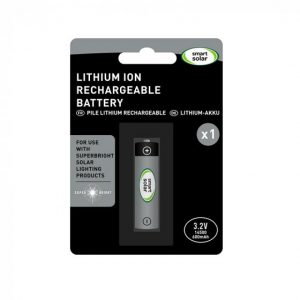 Lithium Ion Rechageable battery 3.2V 600mAh 14500