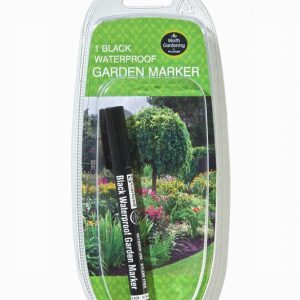 Black Waterproof Garden Marker