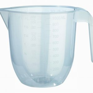 Measuring Jug Clear 1ltr (2 Pints)