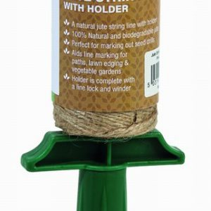 Jute String Line & Holder  (100g 3 Ply Natural Jute Twine)