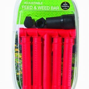 Adjustable Feed & Weed Bar