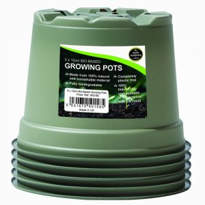 12cm Bio-Based Growing Pots (5)