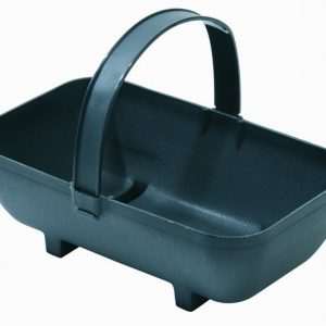 Small Trug Planter Black