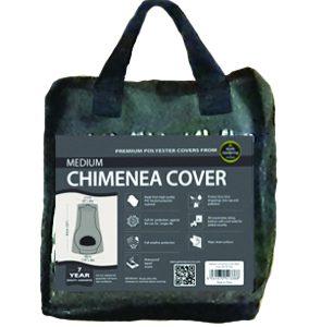 Medium Chimenea Cover Black