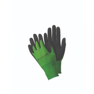 Bamboo Grips Green & Black Gloves