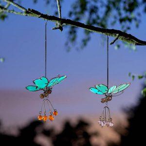 Flutter-Glow Pendants