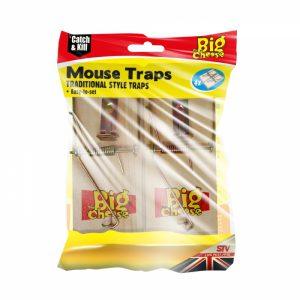 Wooden Mouse Trap 4pk