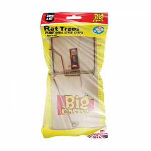 Wooden Rat Trap 2pk