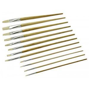 Rolson 12pc Artist Brush Assortment