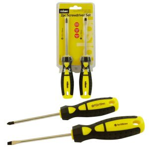 2 Piece Screwdriver Set
