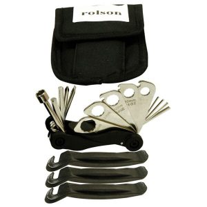 Rolson 20pc Bike Repair Tool Kit