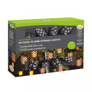 Cool Flame String Lights – Set of 10