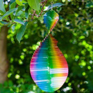 Rainbow Wave Spinner 18cm