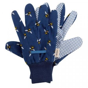 Cotton Grips – Bees Triple Pack Gloves  Med / Size 8