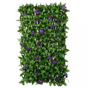 Lilac Bloom Trellis 180 x 90 cm