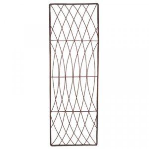 Rot-Proof Faux Willow Trellis – Rectangular Natural 1.2 x 0.45m
