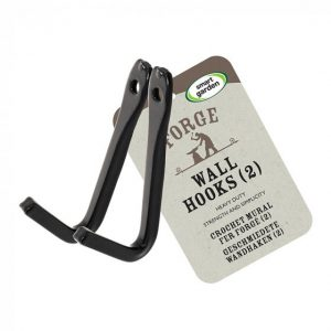 Forge Wall Hook 2-PK