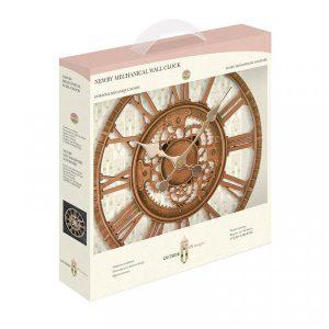 Newby Mechanical Wall Clock 12in-Bronze