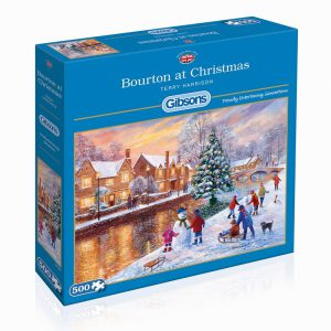 Bourton at Christmas puzzle