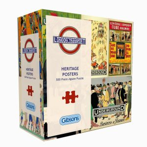Heritage Posters 500PC PUZZLE