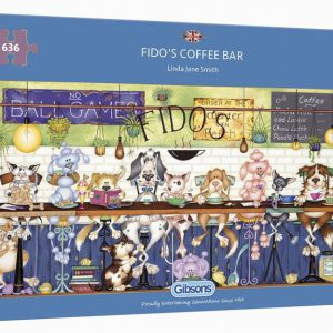 FIDO'S COFFEE BAR 636PC PUZZLE