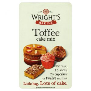 Wrights Toffee Cake Mix 500g