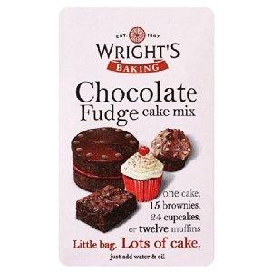 Wrights Chocolate Fudge Cake Mix 500g