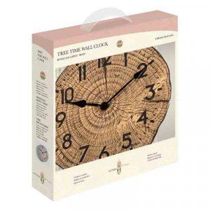 Tree Time Wall Clock