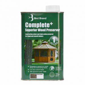 Dark Brown Complete+ Wood Preserver 1 L