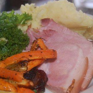 Roast Gammon Sunday Lunch