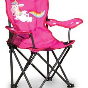Childrens fun unicorn folding chair