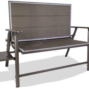 Naples pro 2 seater folding bench
